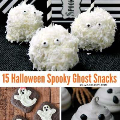 How to Create Spooky Ghost Snacks To Rock Halloween