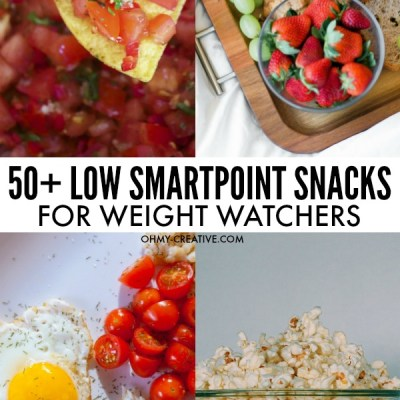50+ Tasty Weight Watchers Low SmartPoint Snacks