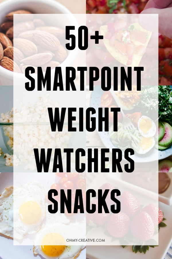 Weight Watchers tasty Low SmartPoint Snacks
