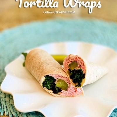 Low Point Weight Watchers Tortilla Recipe Sandwich Wraps