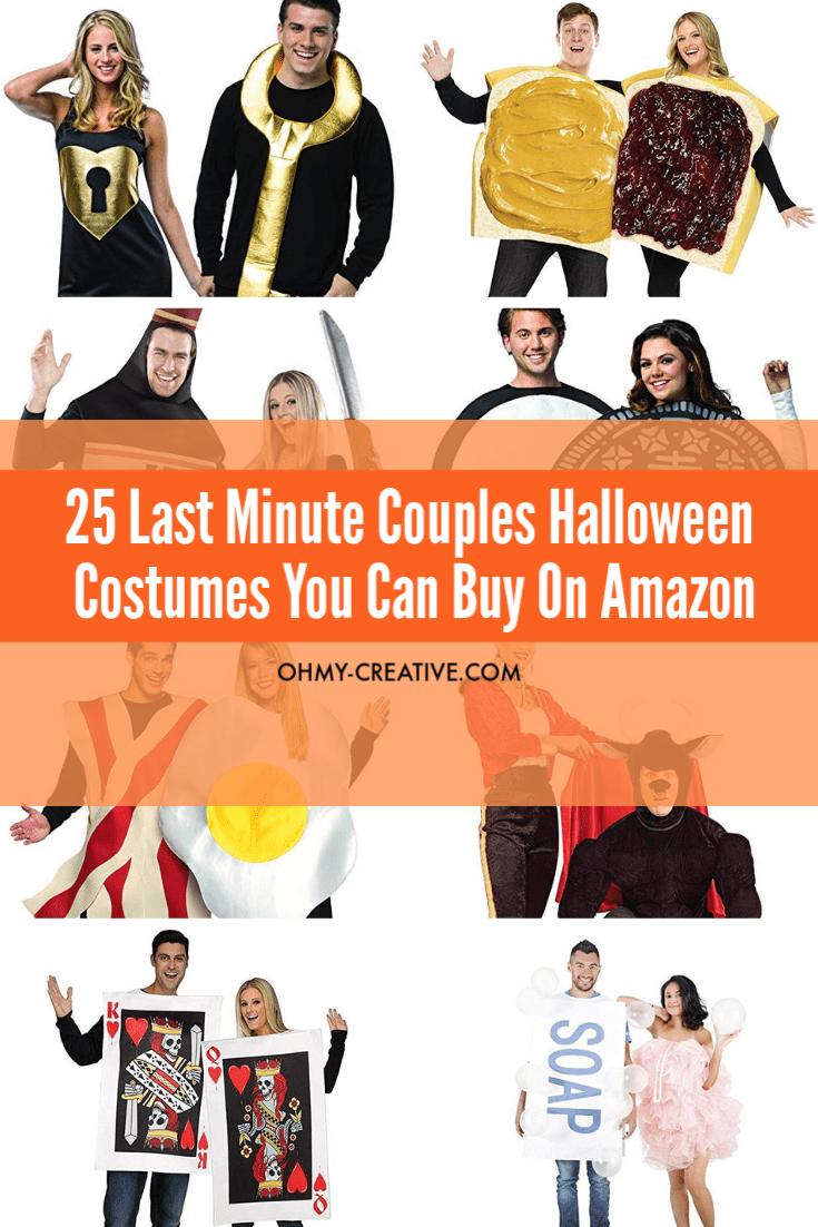 Funny couples Halloween costumes you can buy on Amazon