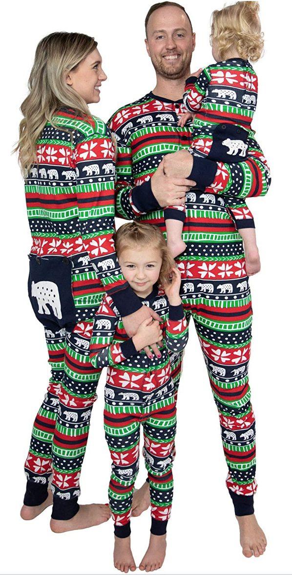 FAMILY MATCHING CHRISTMAS FLAPJACK PAJAMAS PJS SETS