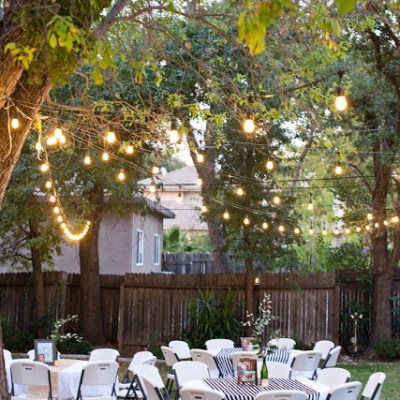 15 Awesome Outdoor Graduation Party Ideas