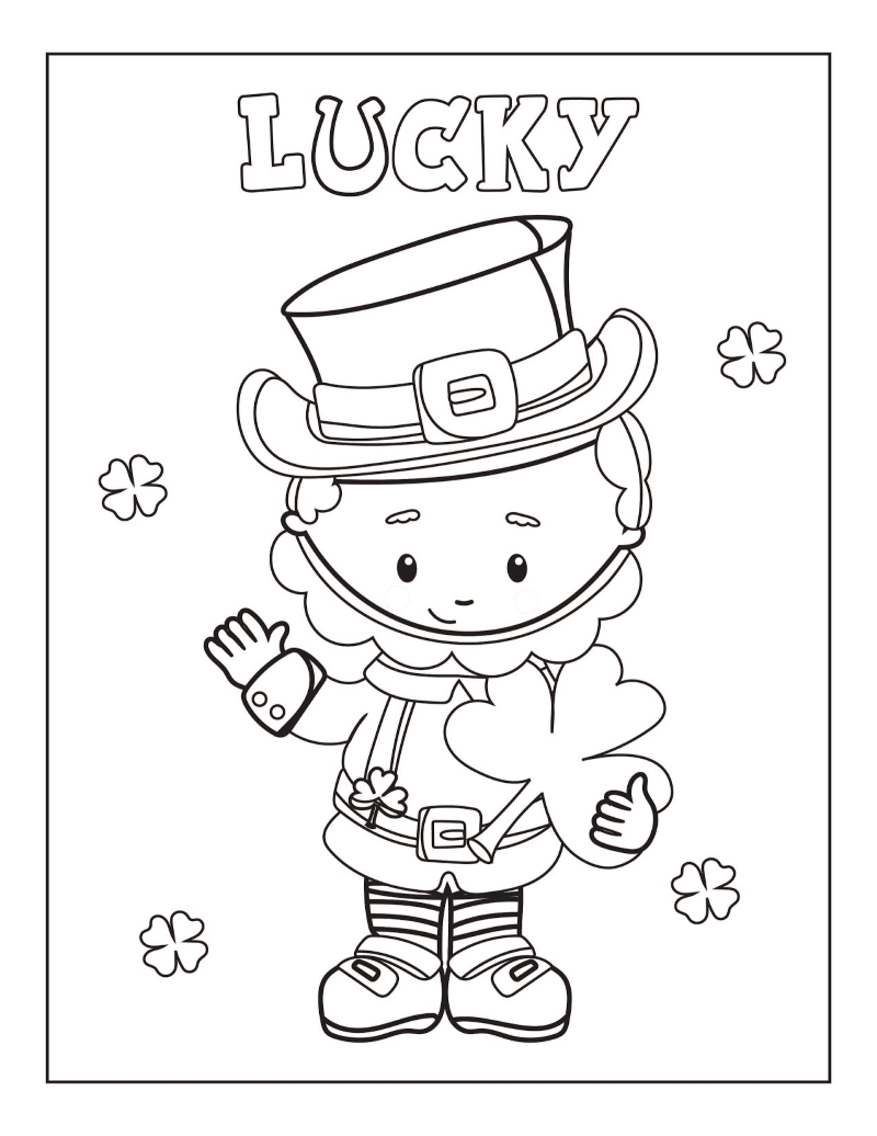 - Free Printable St. Patrick's Day Coloring Pages - Oh My Creative