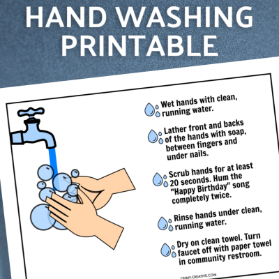 Free Printable Hand Washing Sign
