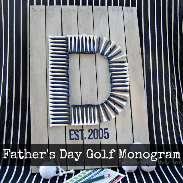Golf tees glued to a baseboard in the shape of letters