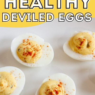 Healthy Deviled Eggs Recipe For Weight Watchers