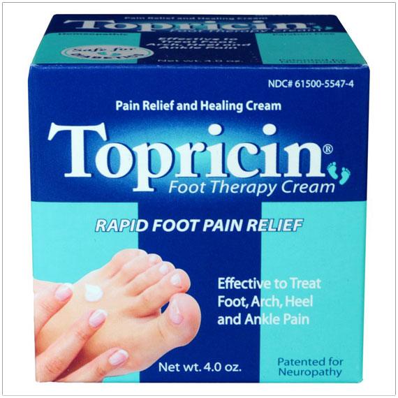 Topricin Foot Pain Relief Cream