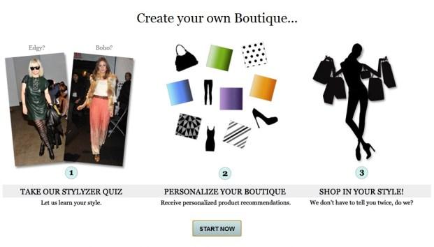 Criando sua própria boutique no Boutiques.com