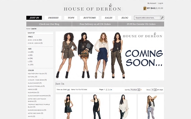 House of Dereon Beyonce blog de moda