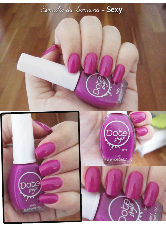 esmalte da semana sexy dote dream on sinful colors blog de moda