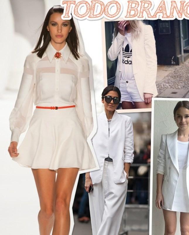 look todo branco all white blog de moda tendencia verao 2013