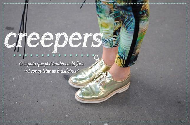 Creepers tendencia sapato mariah blog de moda