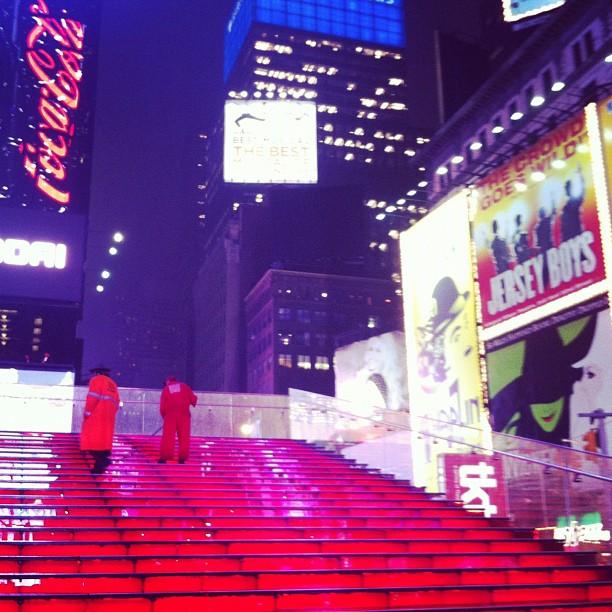 nova york times square escada alicia keys moaraujo instagram blog de moda