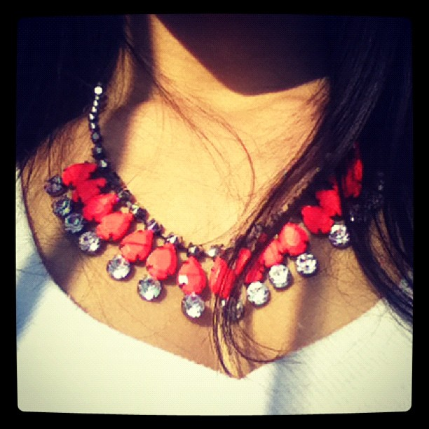 Colar H&M moaraujo instagram blog de moda