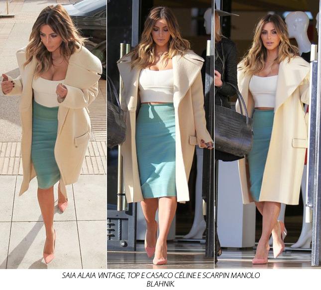 it bag customized blog de moda go my closet kim kardashian hermes birkin kanye west look kim casaco celine manolo blank alaia