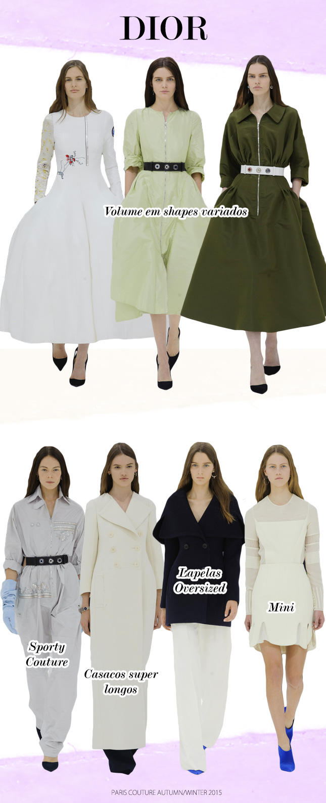 haute couture paris fashion week blog de moda oh my closet desfile dior tendencia inverno 2015 autumn winter couture