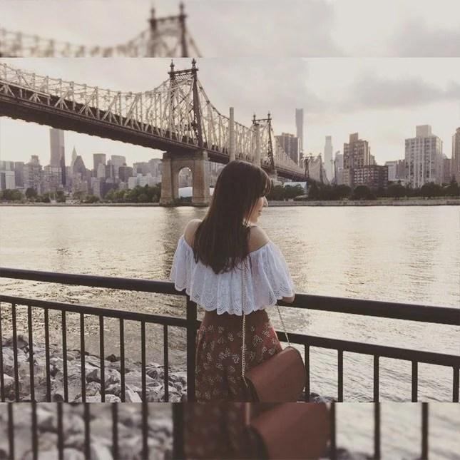 Diário de viagem: #NYexperience, guia de Nova York por Mônica Araújo. Primeiro passeio, ponte do Queens.