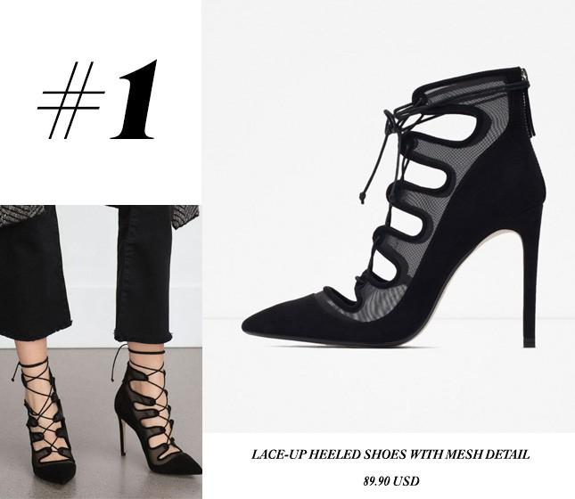 4 Sapatos da Zara para usar no verão. Vem ver a seleção da influencer Mônica Araújo no blog Oh My Closet!