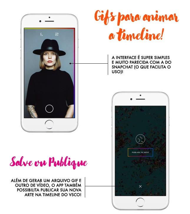 A blogger Mônica Araújo compartilha dicas de app e a de hoje é o DSCO, novo app do VSCO.