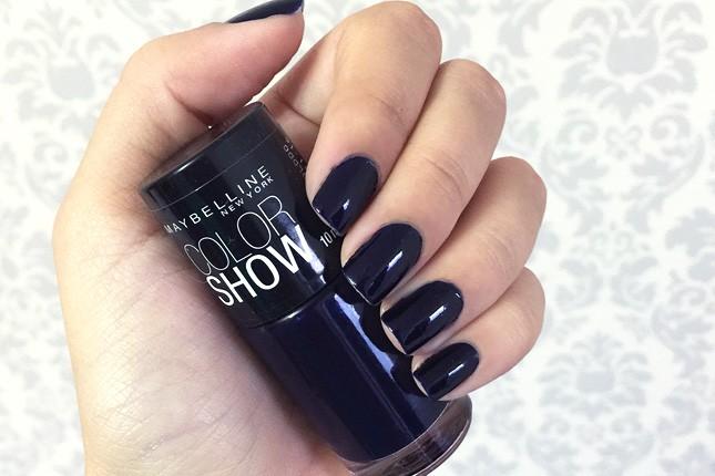 Esmalte da Semana no Oh My Closet!: Night Blue Maybelline. Vem ver!