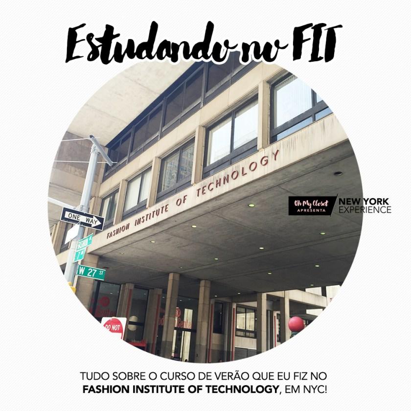 Hoje no Oh My Closet eu conto tudo sobre o meu curso no FIT, em NY. Todas as dúvidas de vocês respondidas com carinho, vem ver!