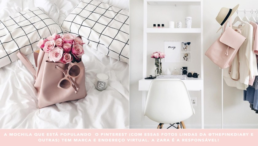 Mochila minimalista Zara: a febre do Pinterest desvendada no Oh My Closet!