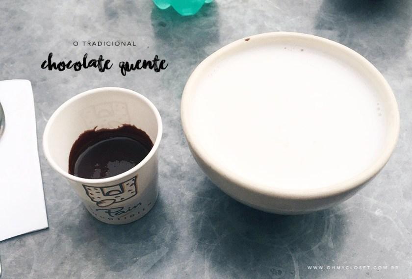 Chocolate do Le Pain Quotidien: veja como tomar na dica da blogueira Mônica Araújo, na seção de lifestyle do Oh My Closet!