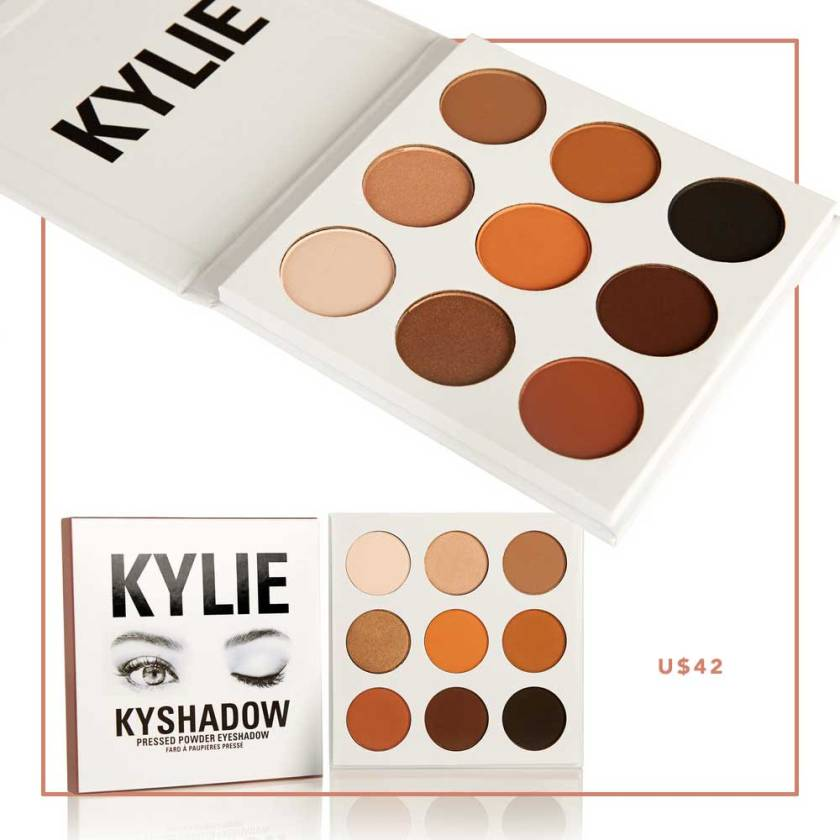 Paleta sombras Kylie Jenner Kyshadow Oh My Closet