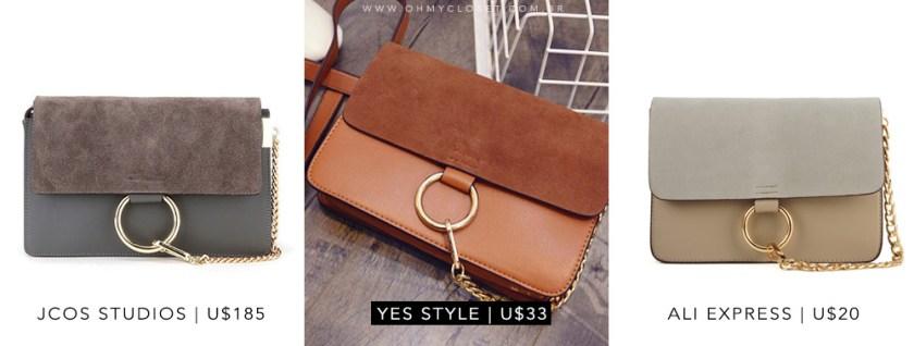 Faye bag Inspired Chloe Jcos Studios Ebay. Veja a dica de onde comprar inspired da Chloe bag no Oh My Closet!