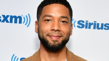 Jussie Smollett at the New York City Center on Nov. 28, 2018