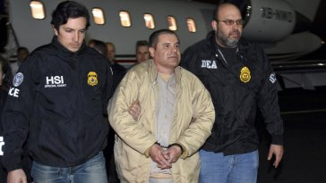 Joaquin El Chapo Guzmán faced 10 charges in the indictment, including engaging in a criminal enterprise, which in itself comprised 27 violations, including conspiracy to commit murder.