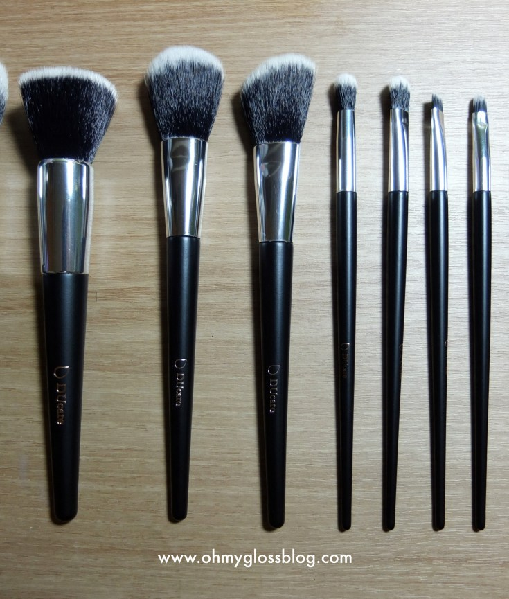 DUcare 10pc Makeup Brush Set Review and 30% Discount Code!