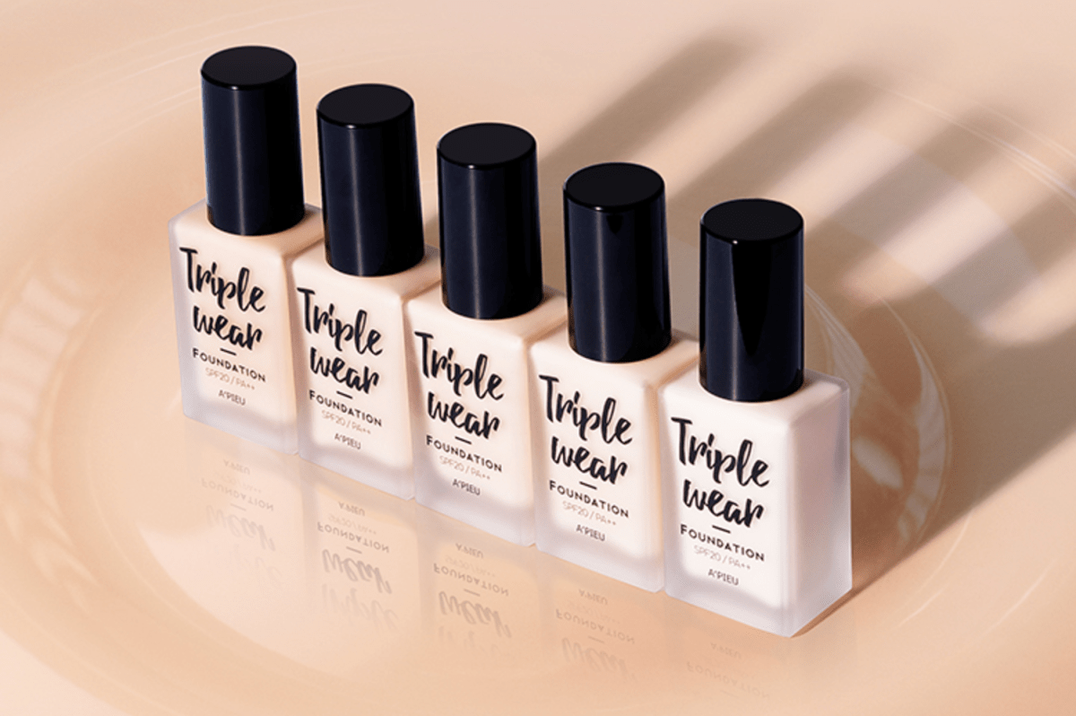 A'PIEU Triple Wear Foundation Review