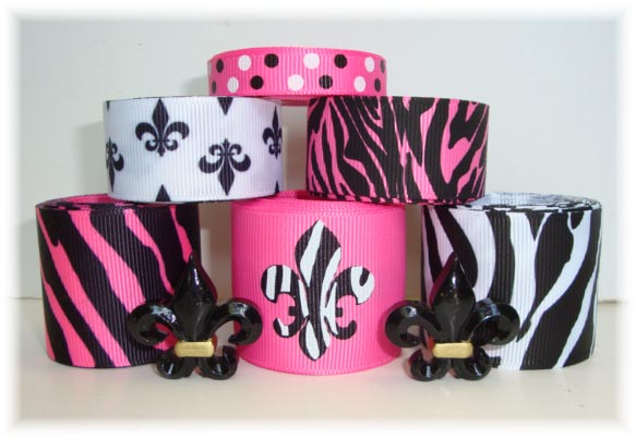 Ribbon Orleans Black And New Saints Gold Pink And Pictures