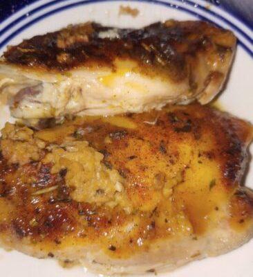 Crock Pot Lemon & Garlic Butter Chicken