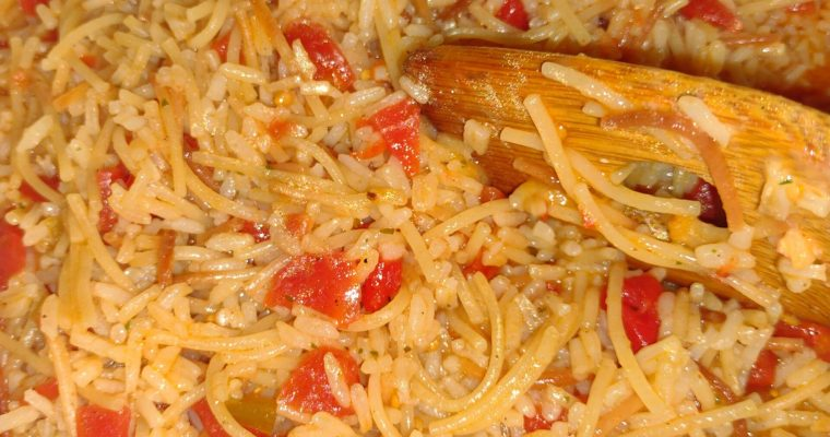 Copy-Cat Rice-a-Roni Spanish Rice