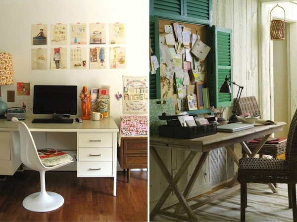 mayi carles, how to keep you creative space inspiring, workspace organization