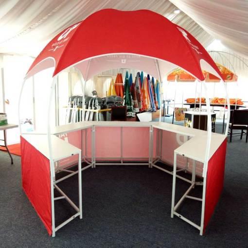 Beverage-Serving-Tent