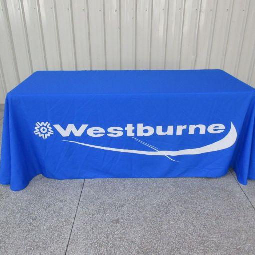 Dye Sublimation Tablecloth printing - vibrant colours