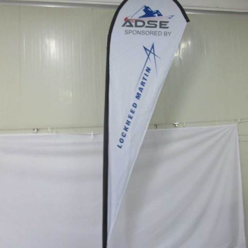 Lockheed-Martin-Tear-drop-flags-Advertising-banner