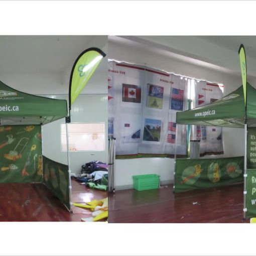 Pop-up-Tent-with-Teardrop-Flag-Attachment