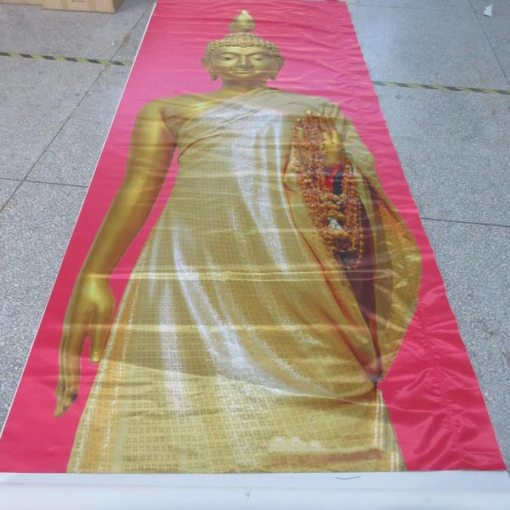 buddha-Satin-print