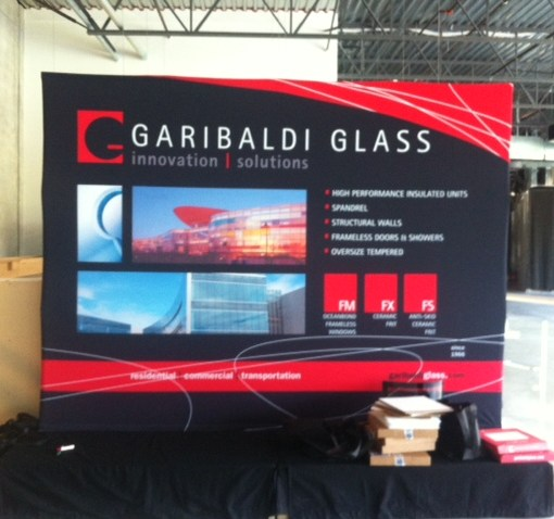 Fabric Backdrop for Trade shows Pop up Display