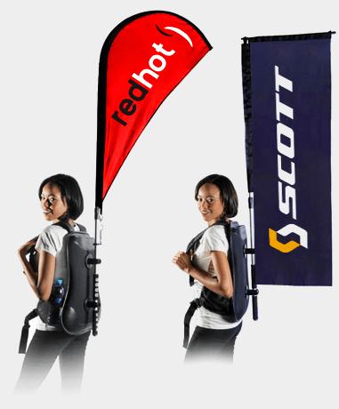 Backpack Flags Canada, USA, Australia, UK, Worldwide