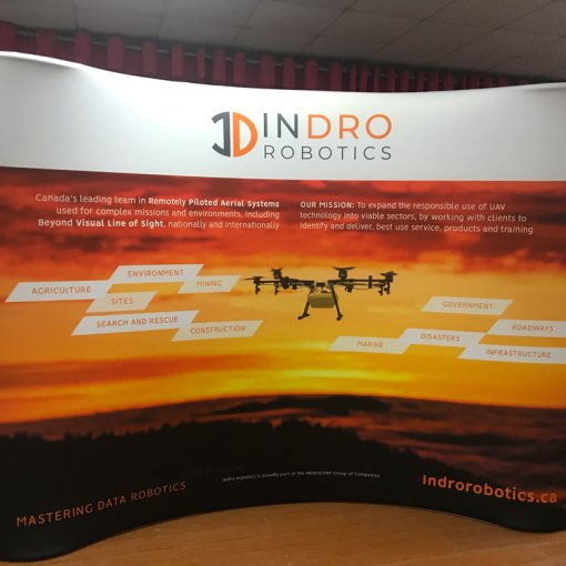 Curved-Tradeshow-Display