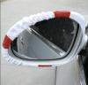 Driver view car mirror flag
