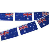 Bunting rectangle flags