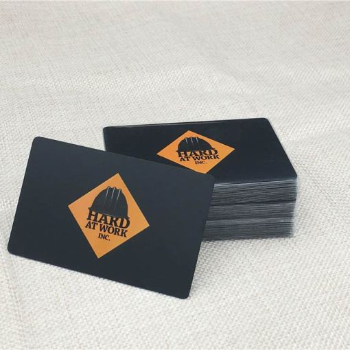 Matte-Black-Metal-Business-Cards