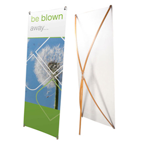 Bamboo-X-Frame-Banner-Stand